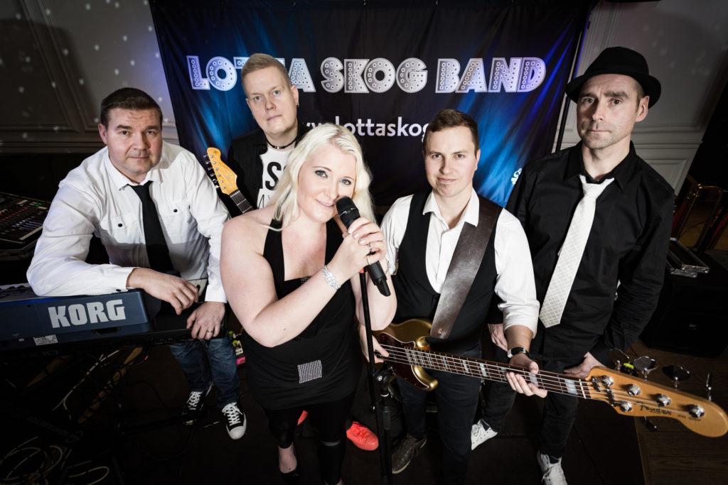 Palkkaa muusikko: Lotta Skog Band